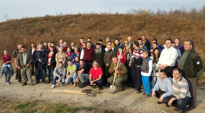 """Liga Tinerilor Creştini Ortodocşi – proiect """"Tineri, plantăm pentru viaţă"""""""