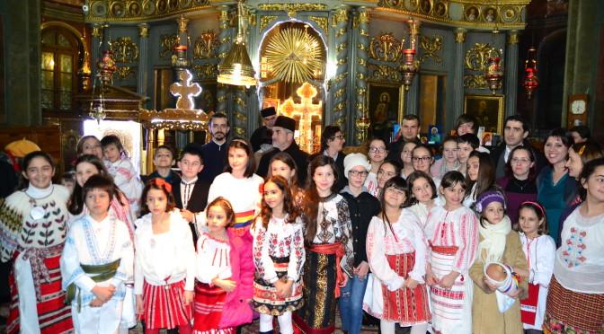 Parohia Teiul Doamnei Ghika – vernisaj de icoane şi concert de colinde 14 decembrie 2015