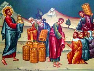 Duminicia a VIII-a dupa Rusalii – Inmultirea painilor si a pestilor – Darurile se inmultesc prin binecuvantare