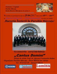 Parohia Marcuta – 25 aprilie 2017, ora 18 – Seara cultural-duhovniceasca
